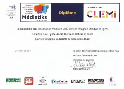 Diplome Mediatiks